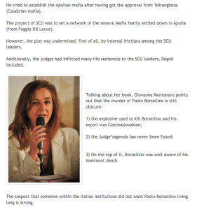 In Apulia - La Verità del Pentito - Mesagne 20 marzo 2015