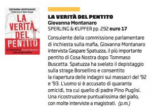 La Verità del Pentito - Giovanna Montanaro - ilVenerdi Repubblica 20 dicembre 2013